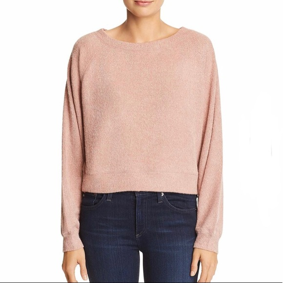 Band of Gypsies Dusty Mauve Sweater